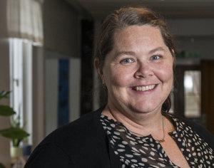 Jenny Eriksson, lärare på Allmän kurs fokus